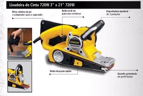 LIXADEIRA DE CINTA 720 W STGS7221 STANLEY