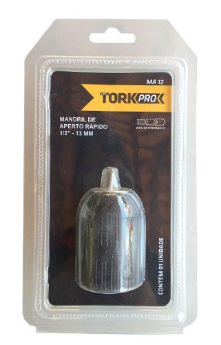 Mandril De Aperto Rápido 1/2  13mm - Ma12 Tork