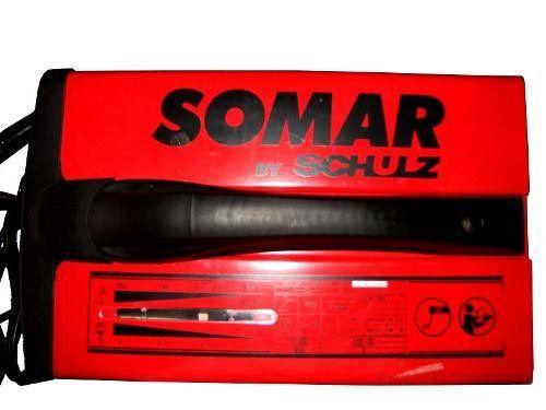 Maquina Solda Mt 250 Ah Compacta Somar (by Schulz) Bi-volts