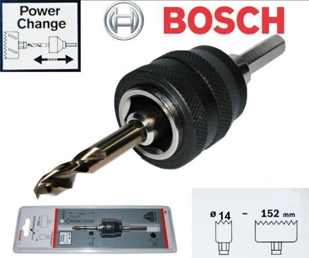 ADAPTADOR POWER CHANGE ENCAIXE HEXAGONAL 2608584674 BOSCH