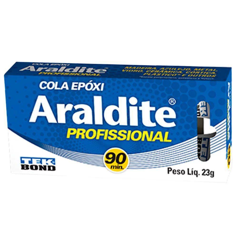 ADESIVO ARALDITE PROFISSIONAL 23G- TEKBOND 10808501100