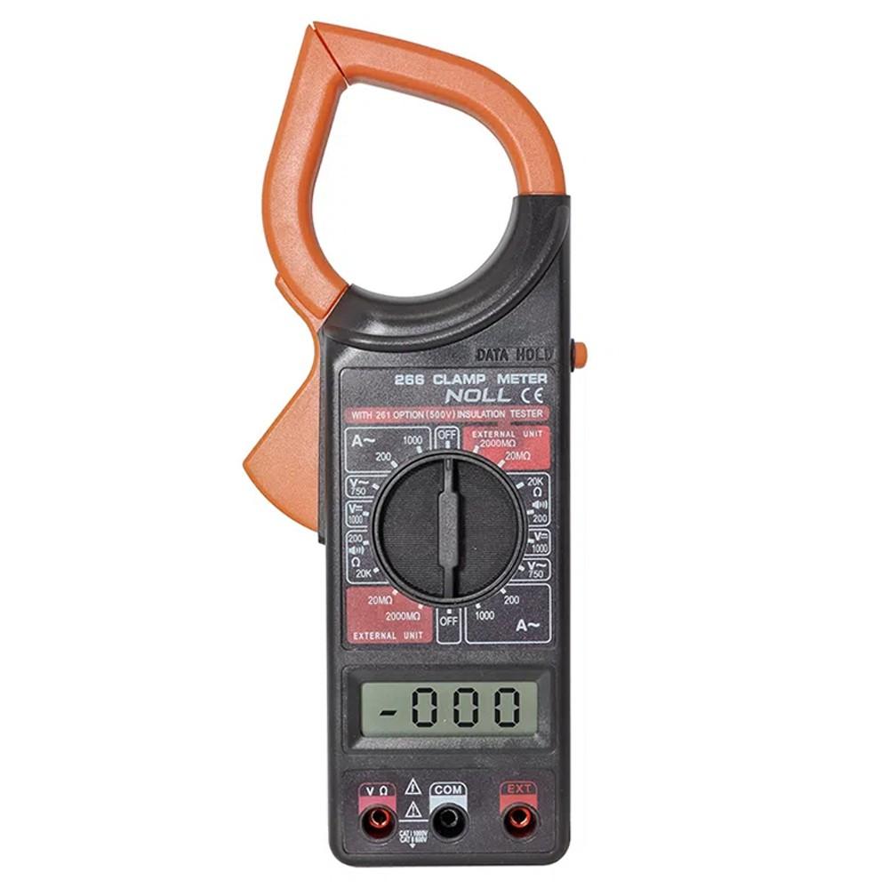 ALICATE AMPERÍMETRO DIGITAL 200 A 1000A AC ABERTURA DA GARRA 54MM - NOLL 234,0001