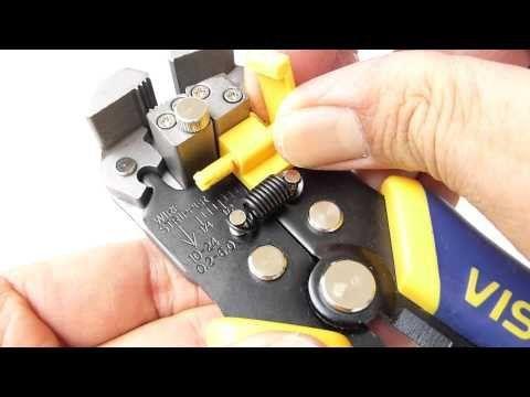 Alicate P/ Eletricista E Desencapador De Fios De 8 Pol Irwin