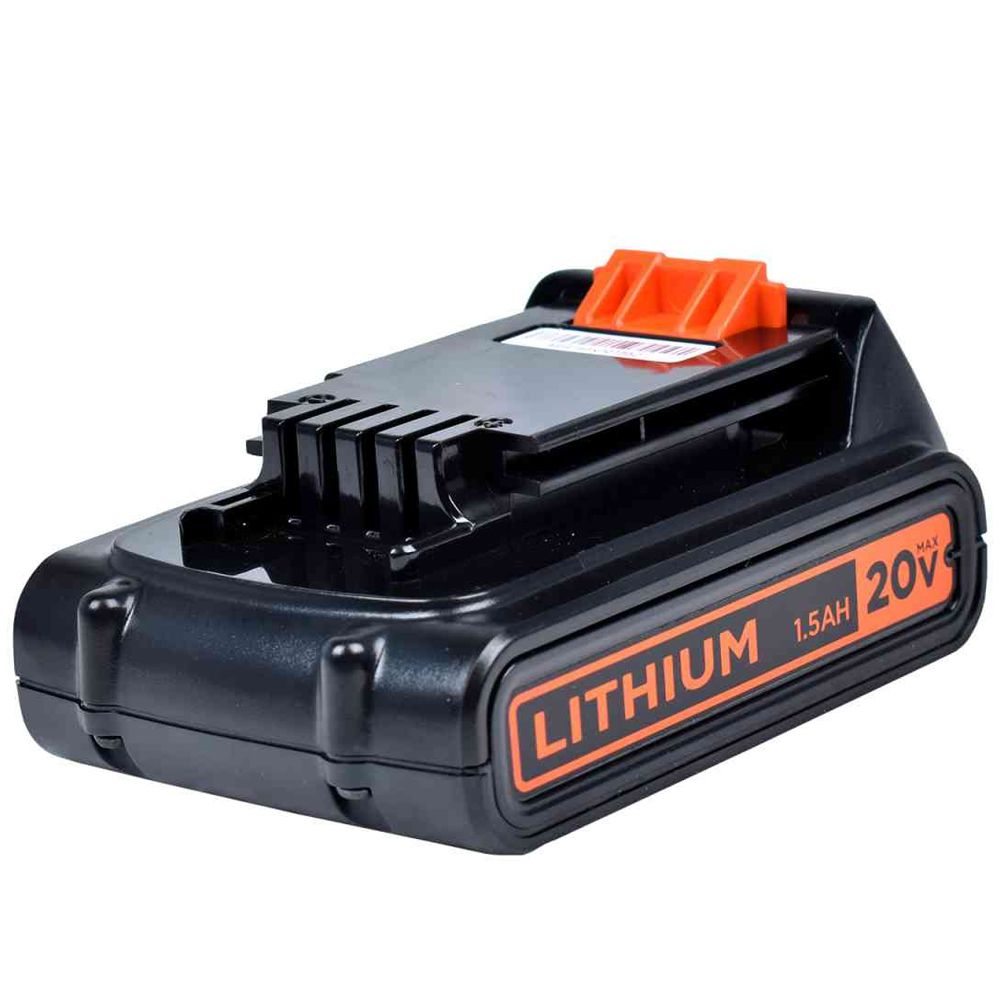 BATERIA DE LITIO ION 20V  1.5Ah - LD120BAT BLACK + DECKER