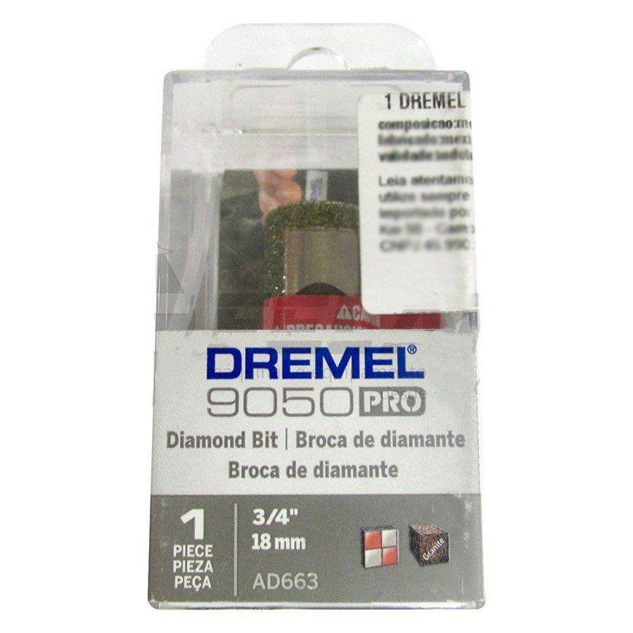 "BROCA DIAMANTADA AD663 3/4"" DREMEL"