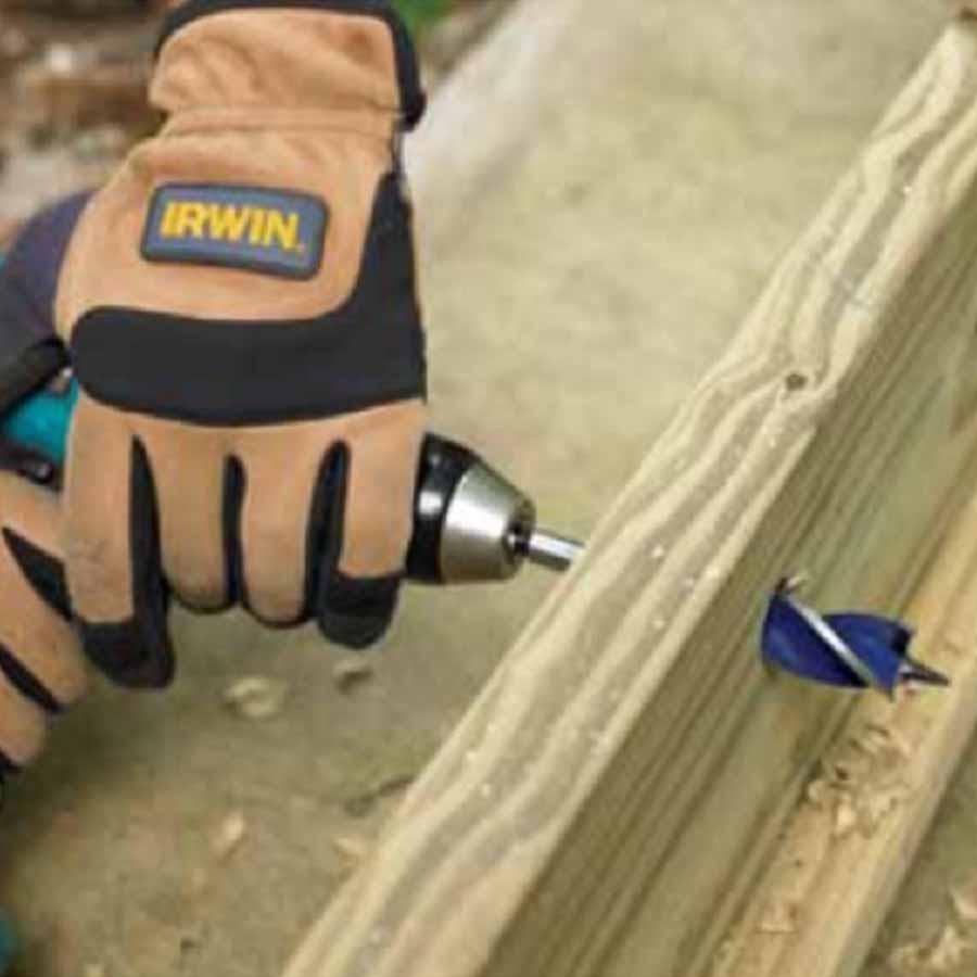 Broca Para Madeira 25,4mm Irwin Speedbor Max Wood 6 X 1 - Iw14332