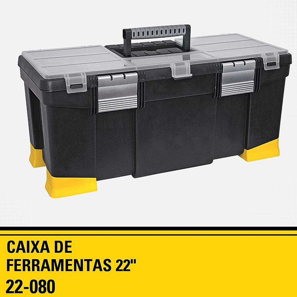 "CAIXA DE FERRAMENTAS 22"" SERIE MILLENIUM - 22-080 STANLEY"