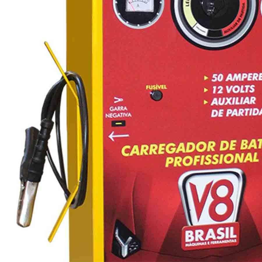 CARREGADOR DE BATERIAS E AUXILIAR de partdida CHARGER 500 - V8 BRASIL