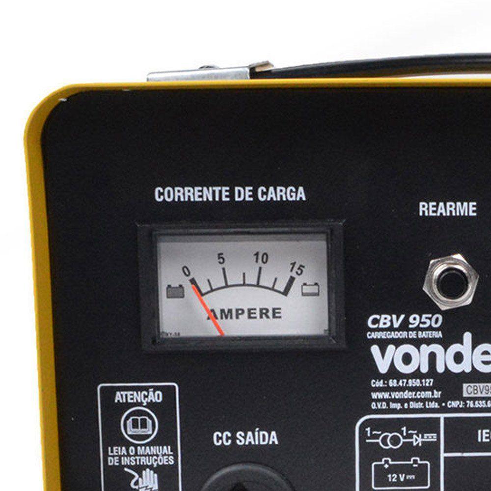 CARREGADOR DE BATERIAS 90A CBV 950 - VONDER