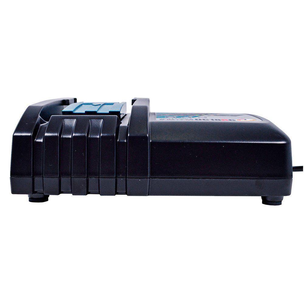 Carregador Rápido de Bateria 7.2 / 18V - DC18RC - Makita