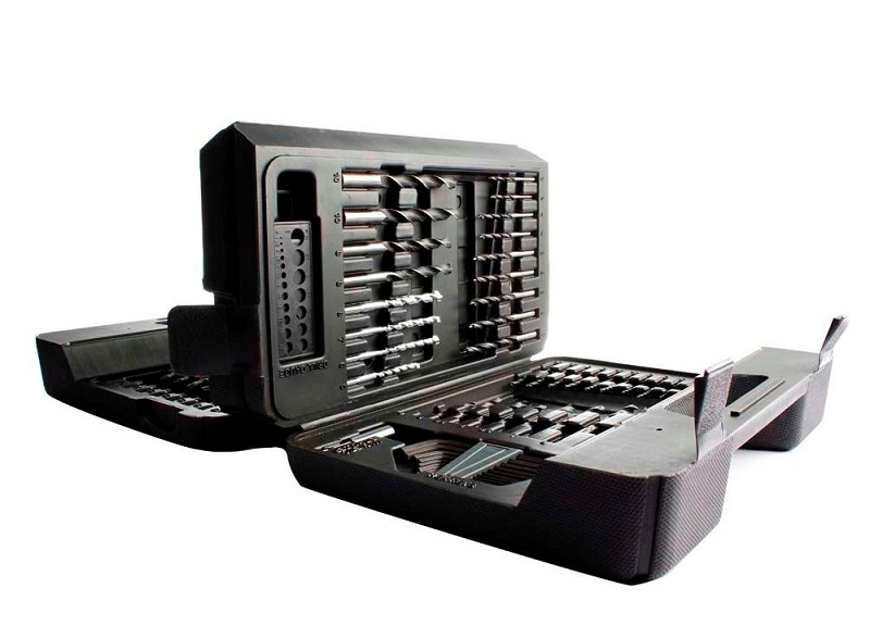 CONJUNTO P/ FURAR E PARAFUSAR129 PECAS A7211-XJ BLACK E DECKER