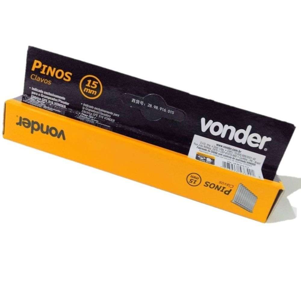 PINO 15MM PARA GPE916 CX C/1000 VONDER