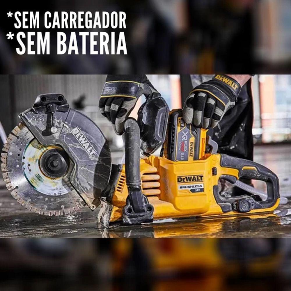 CORTADOR DE ASFALTO 60V FLEX VOLT SEM BATERIA - DCS690B DEWALT