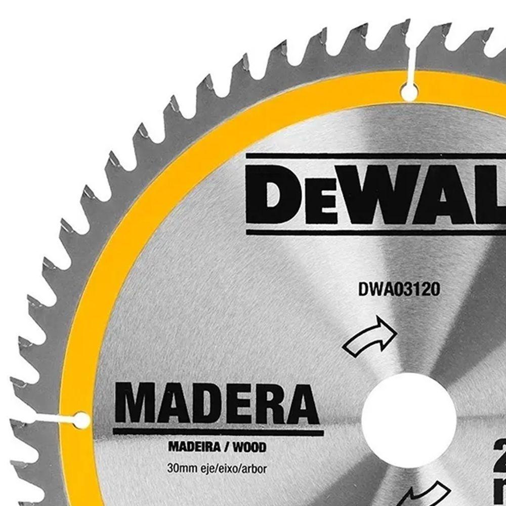 """DISCO DE WIDEA 10"""" 60 DENTES PARA MADEIRA - DEWALT"""