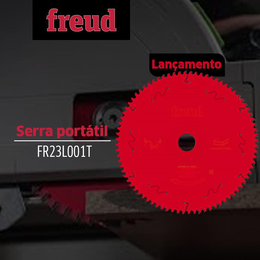 DISCO SERRA CIRCULAR MDF REVESTIDO 250MM 80 DENTES - FR23L001T FREUD