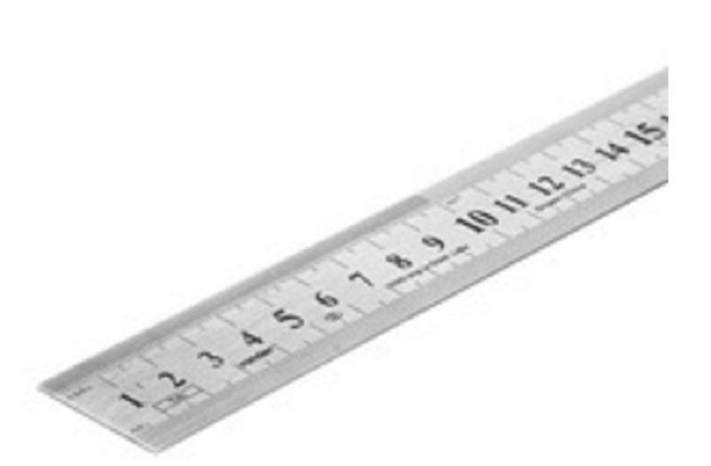 Escala De Aço 300mm - 3561209000 Vonder