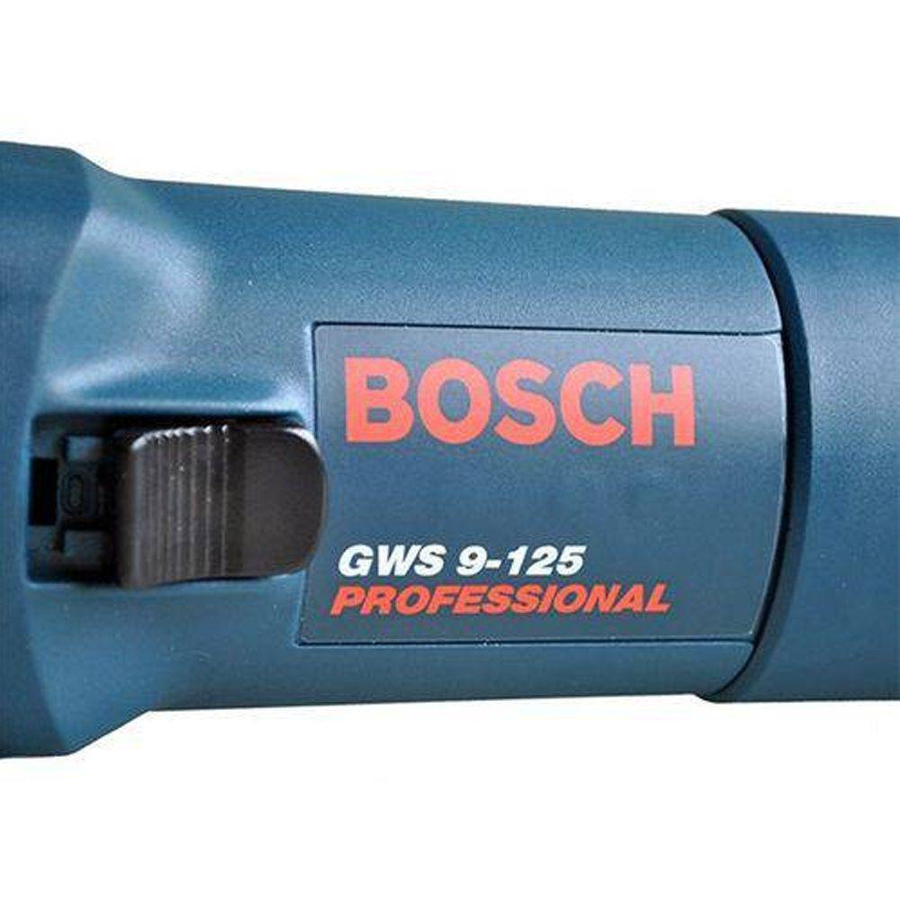 ESMERILHADEIRA ANGULAR 900 W GWS 9-125 - BOSCH 06013960E000