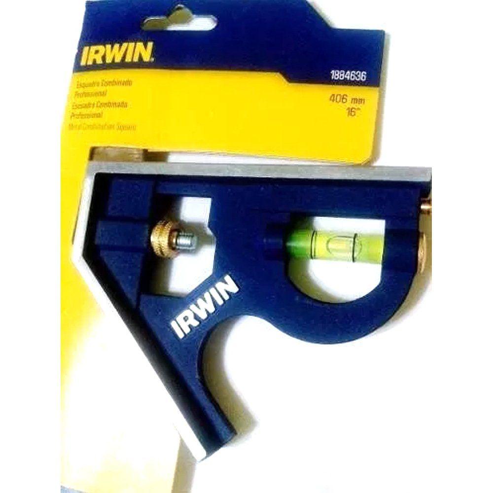 ESQUADRO COMBINADO PROFISSIONAL 16 - 406 MM IRWIN - 1884636