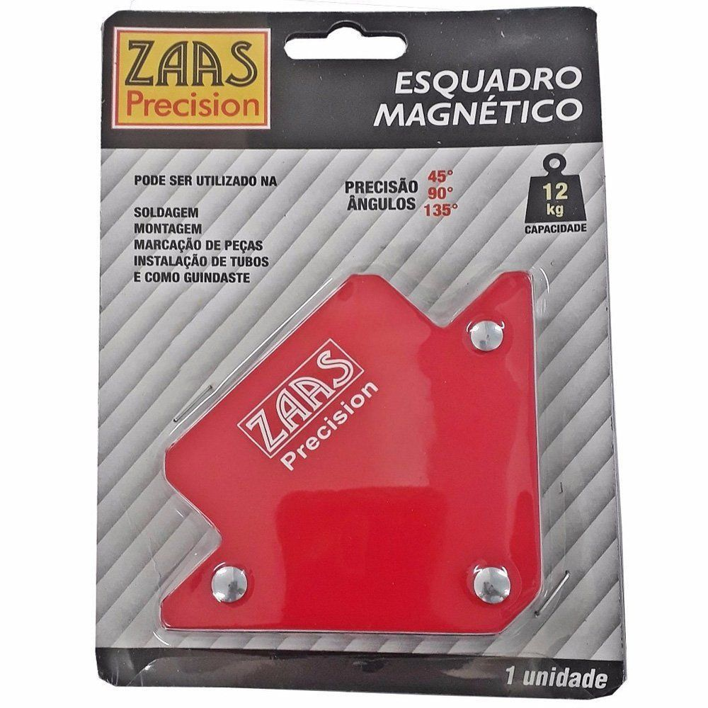 ESQUADRO MAGNÉTICO 12KG  ZAAS PRECISION 375,0001