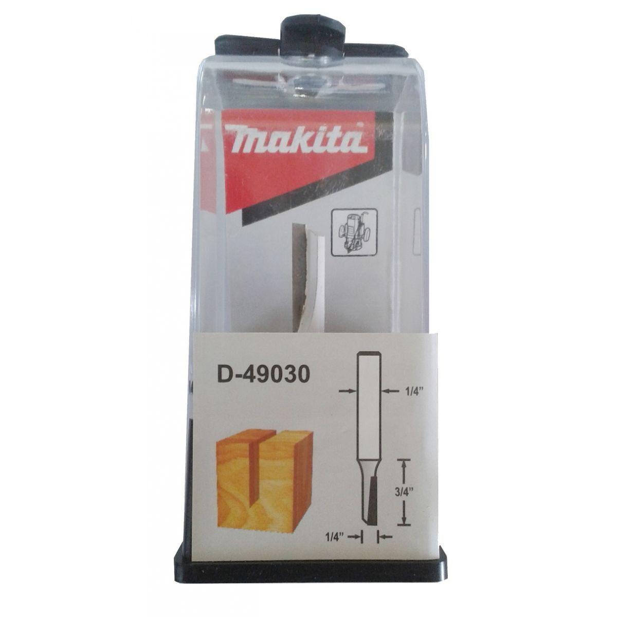 "Fresa Paralela Simples 1/4"" D-49030 Makita"