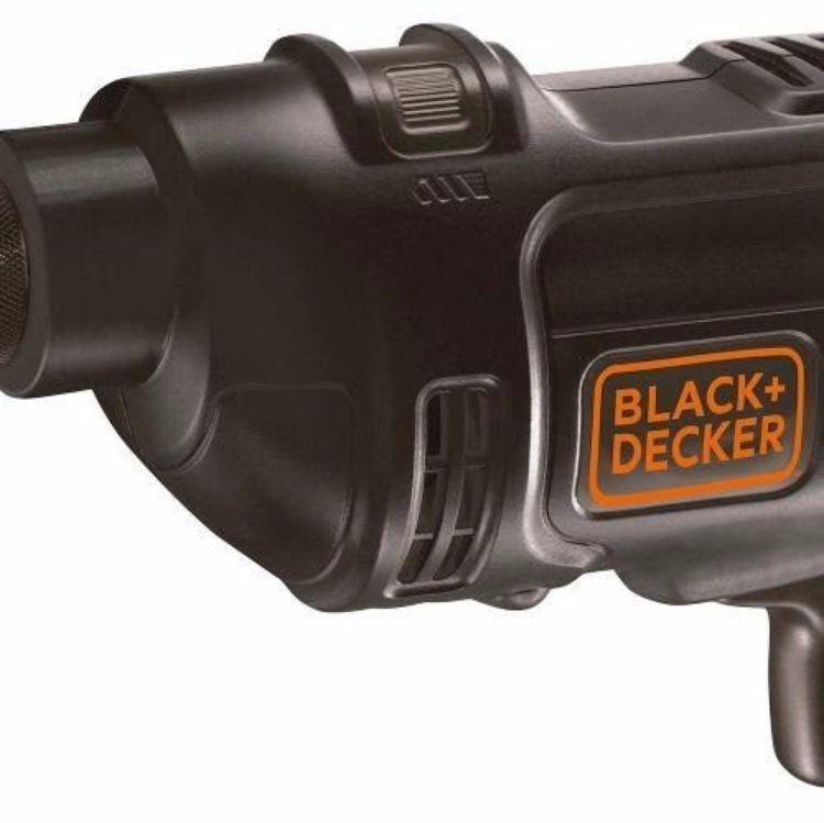 """Furadeira de Impacto de 3/8"""" 560W BD500 BLACK E DECKER"""