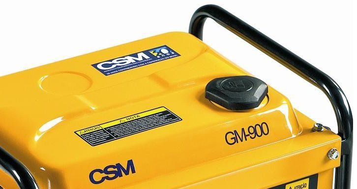 GERADOR A GASOLINA MONOFASICO 2.5 HP GM 900 CSM