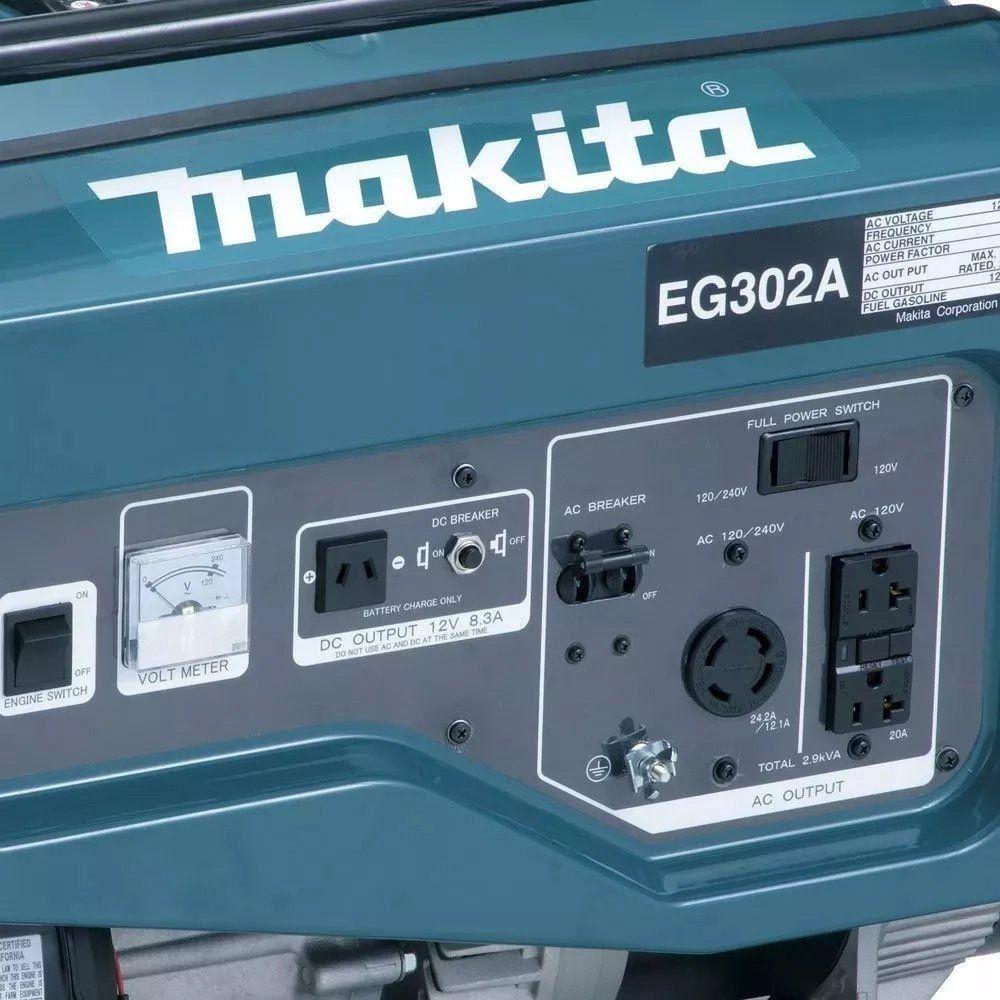 GERADOR DE ENERGIA A GASOLINA 3,0 kW - MAKITA EG302A