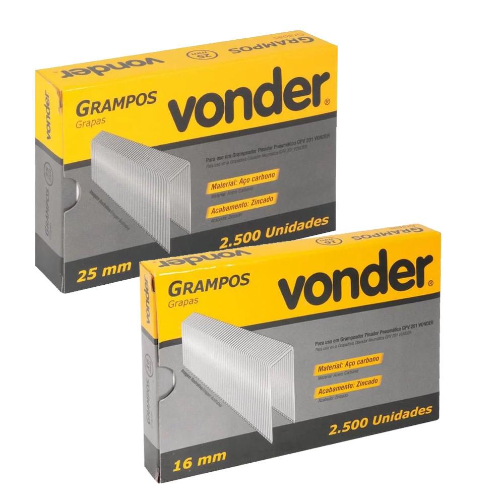 GRAMPEADOR PINADOR PNEUMÁTICO 70 PSI  - GPV201 VONDER