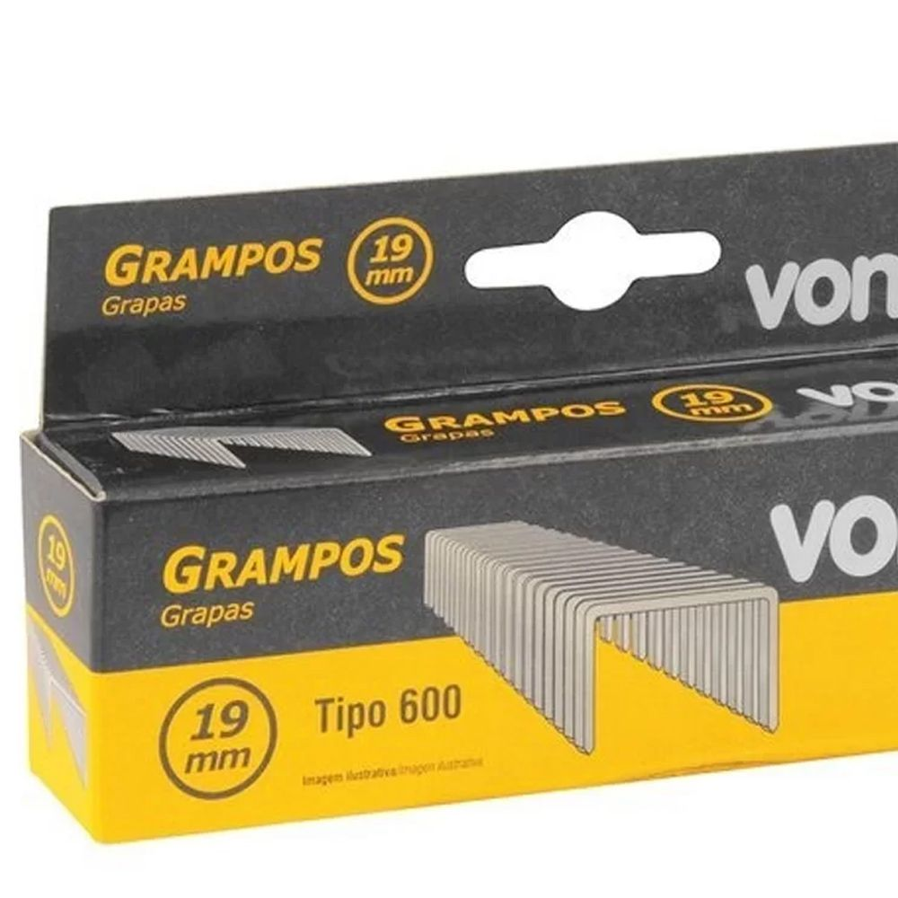 GRAMPO 19MM PARA GPE916 CAIXA C/1000 VONDER