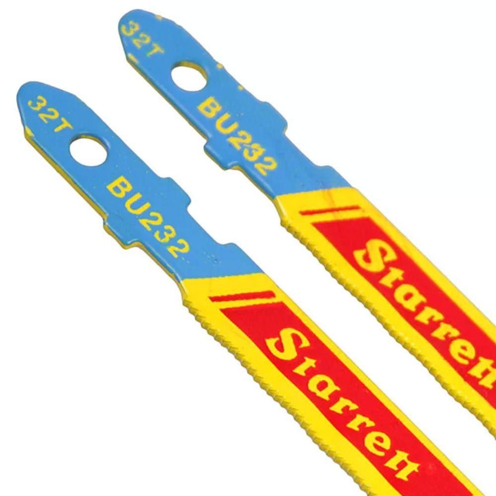 JOGO COM 5 SERRAS PARA TICO TICO 50MM 32D - BU232 STARRETT