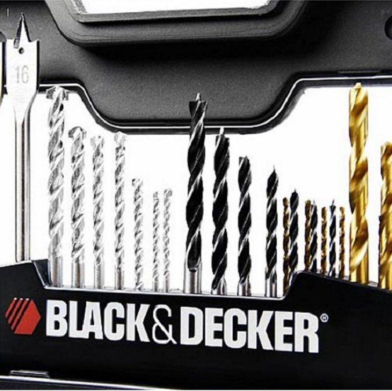 JOGO PARA FURAR E PARAFUSAR BLACK DECKER A7187-XJ - 100