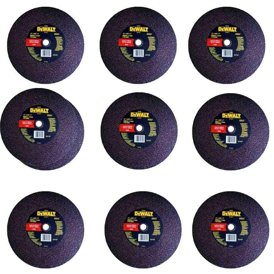 Kit com 10 discos Abrasivo Corte Metal - Dewalt - DW44620