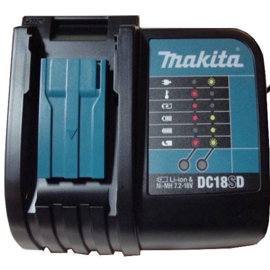 KIT COM 2 BATERIAS  BL1815N/ DC18SD/  MAKPAC - MAKITA - 197139-9