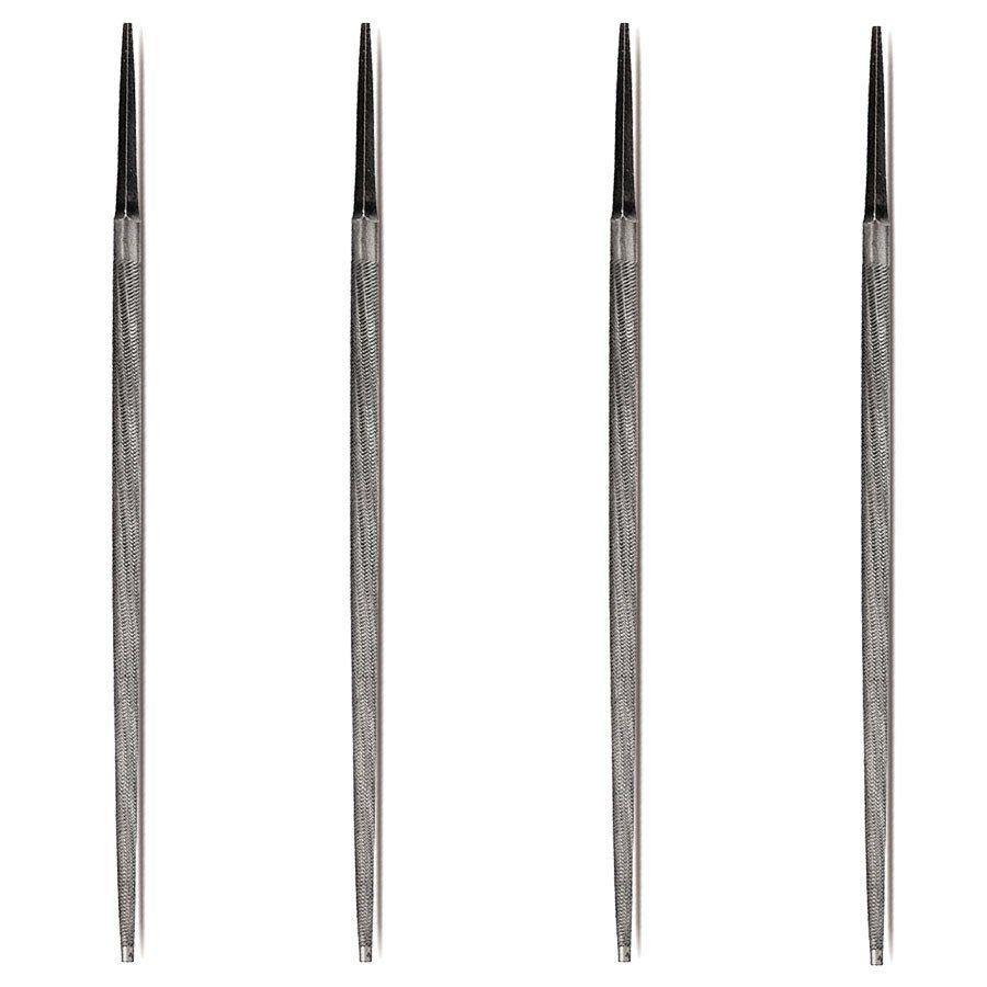 Kit Com 6 Limas Mecanica Redonda Bastada Starrett - L105-108 - L105-110