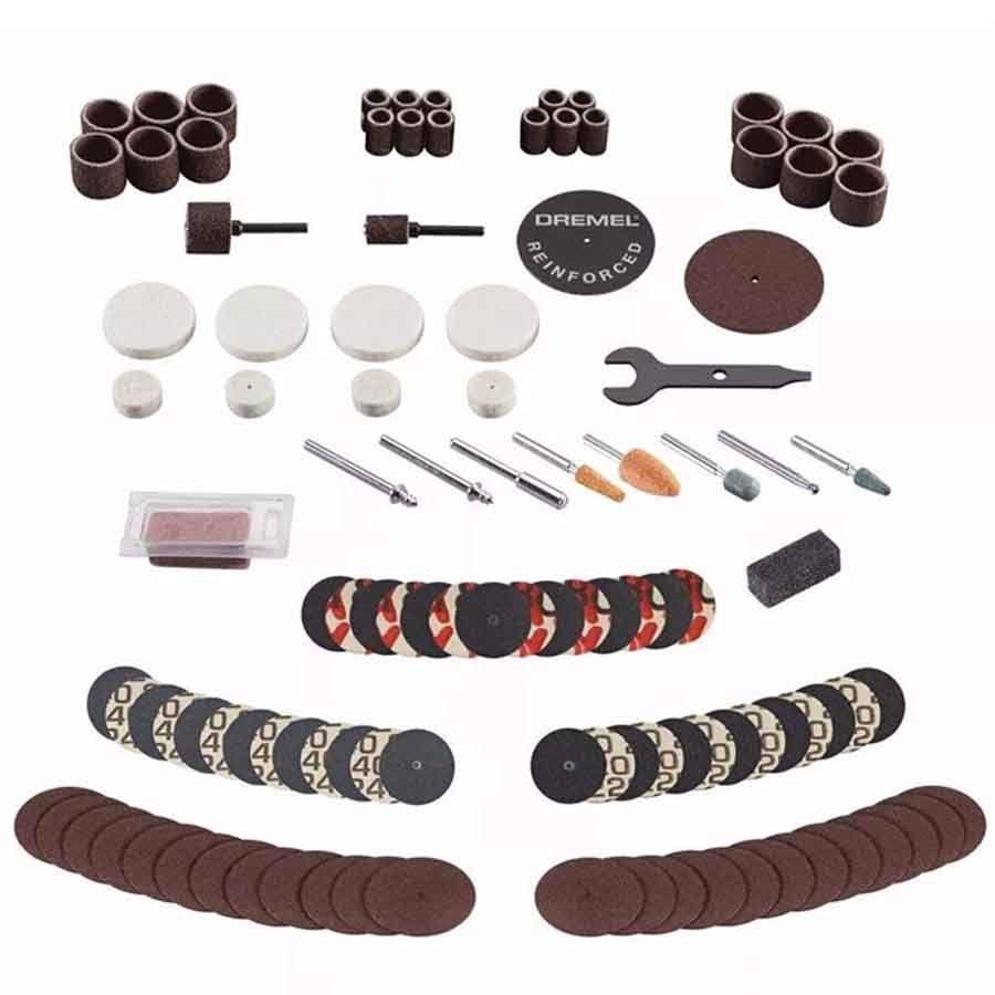 Kit Dremel 709 Com 110 Acessórios Para Uso Geral - 709-RW2