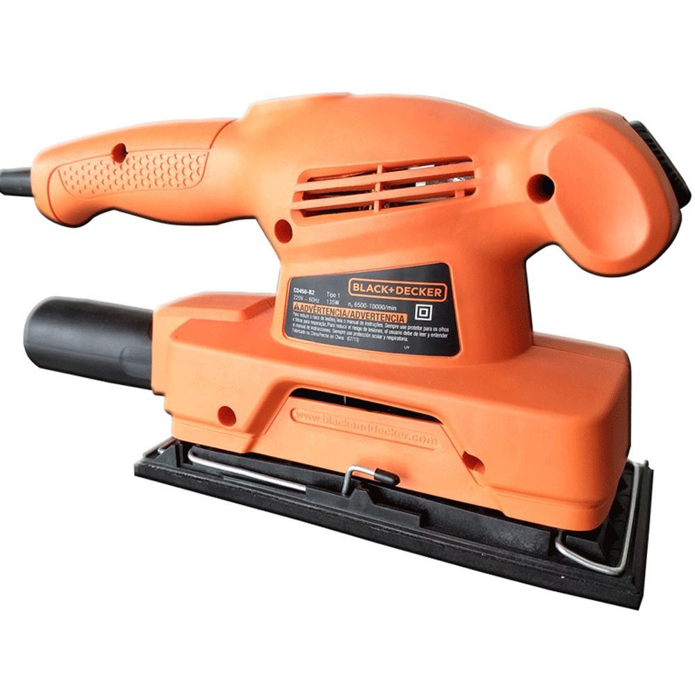 LIXADEIRA ORBITAL 1/3 135W - CD450 BLACK + DECKER