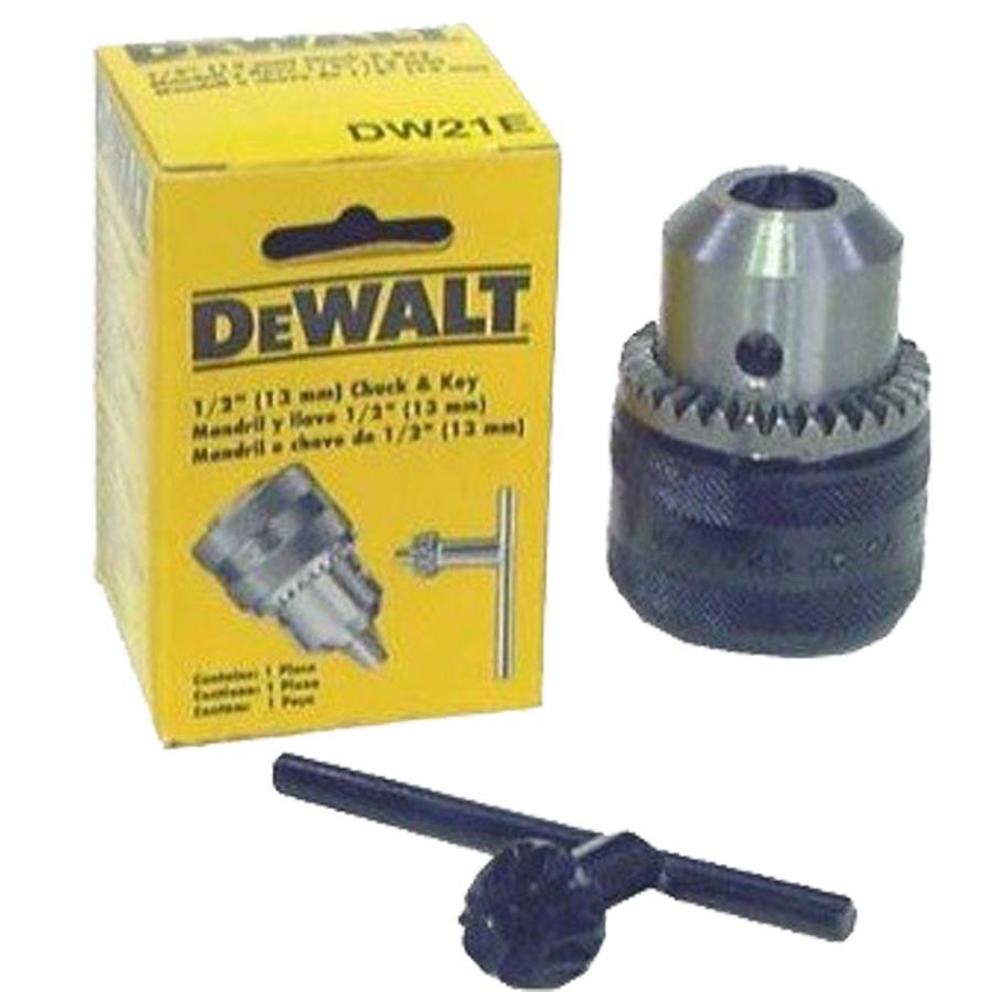 Mandril 1/2  (13mm) Com Chave - Dewalt - Dw21e - Universal