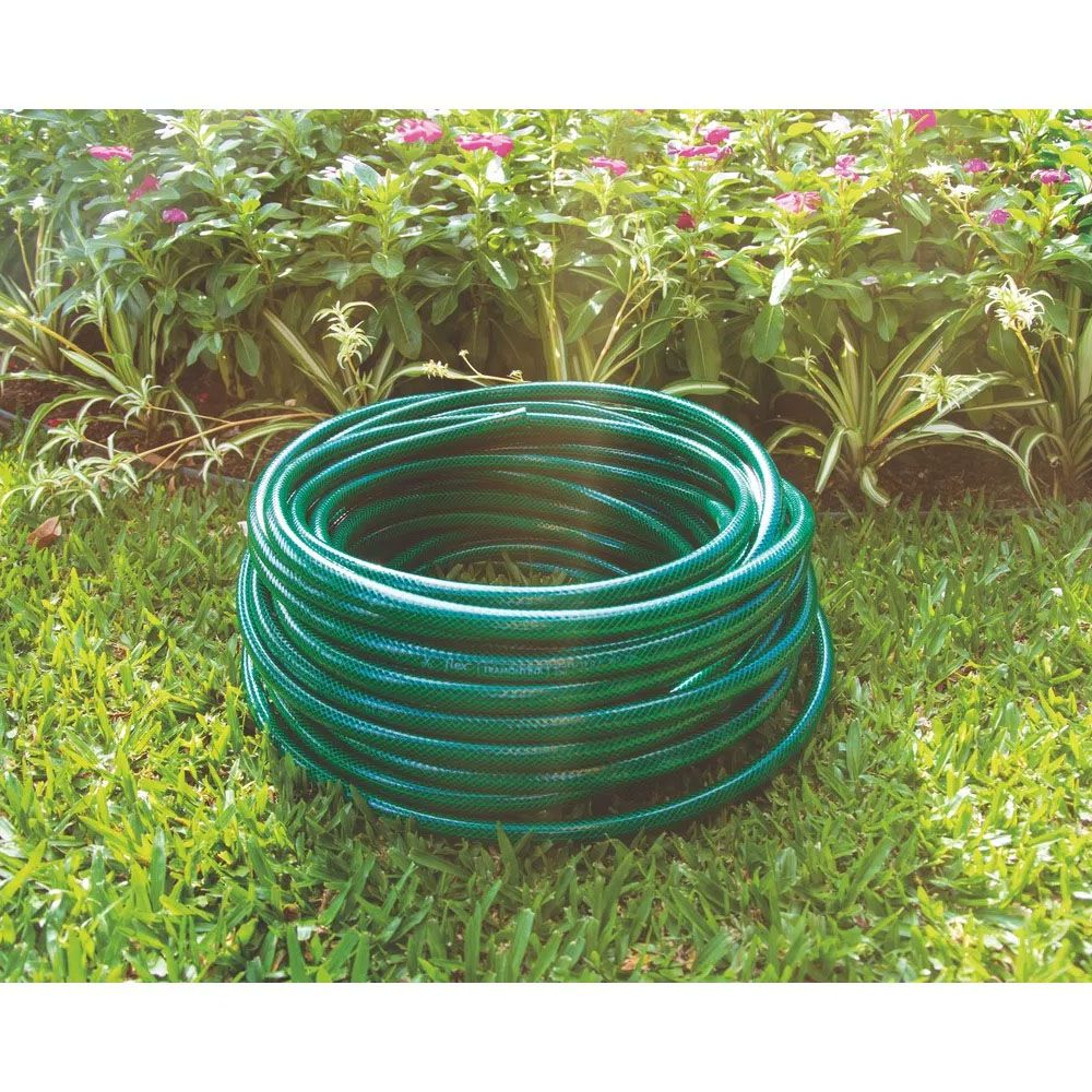 MANGUEIRA FLEX EM PVC PARA JARDIM 5/8 10 METROS - TRAMONTINA
