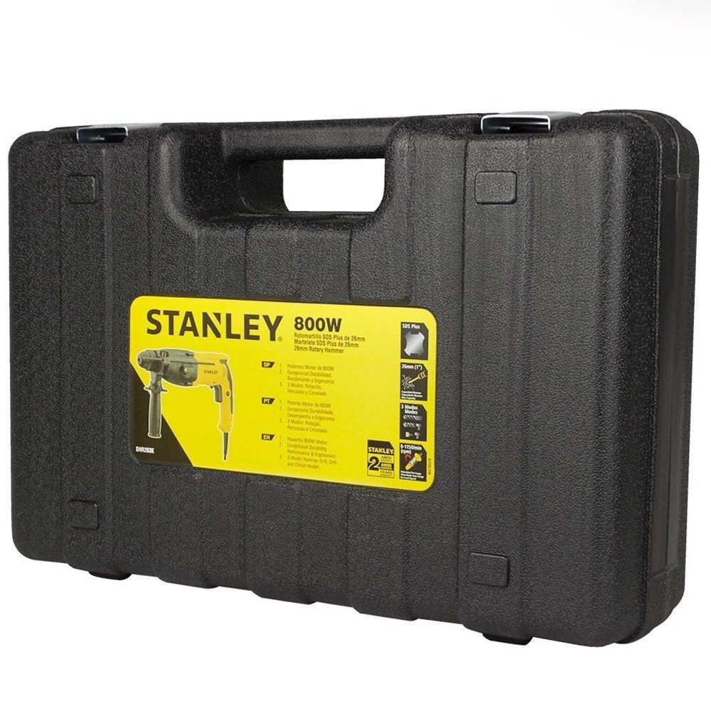 MARTELETE PERFURADOR ROMPEDOR 800W STANLEY SHR263K