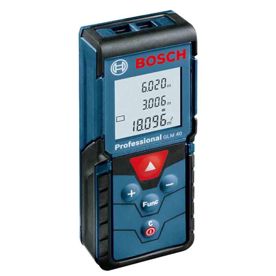 Trena Laser de Distâncias Profissional Bosch - GLM 40 - 0601072900