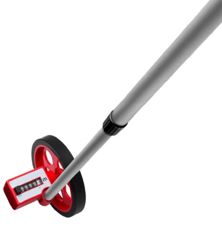 Medidor De Distancia Manual Com Roda 9999,9 Metros - Worker 487562
