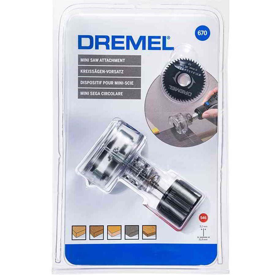 Mini Serra Circular Para Retificas Dremel 670 - 26150670JA
