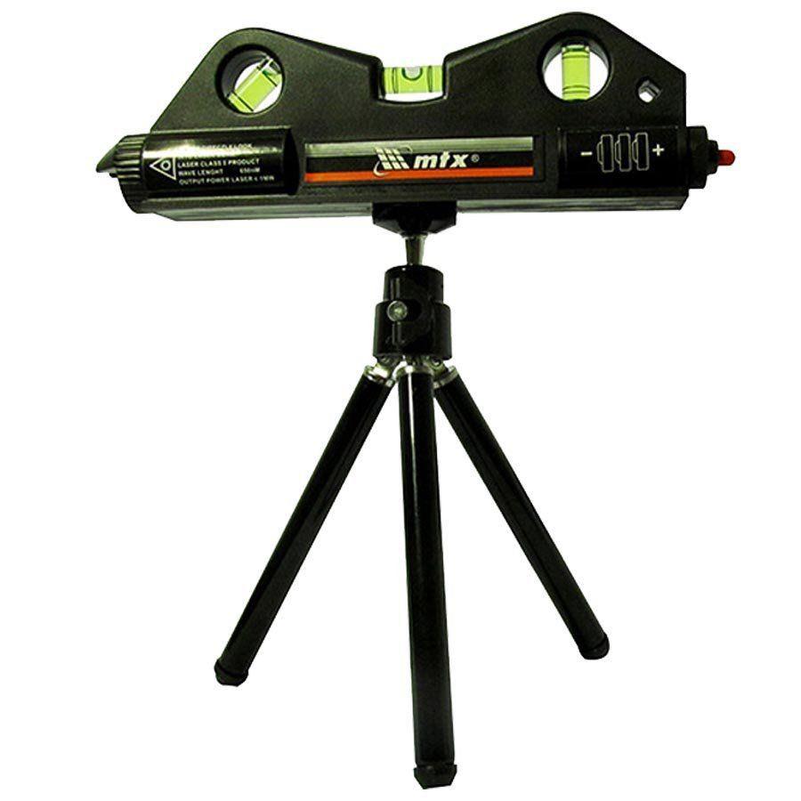 Nível Laser 3 Bolhas + Tripé + estilete profissional - Mtx - 350209