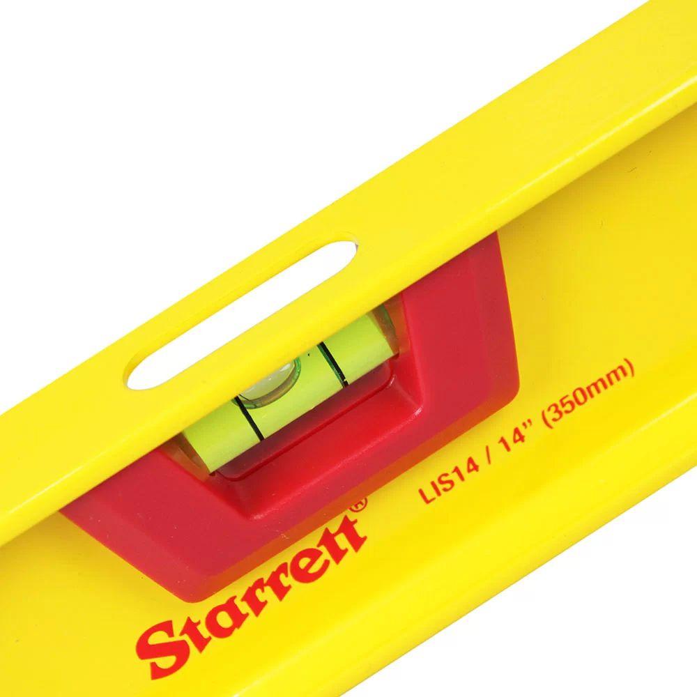 NIVEL ALUMINIO I-BEAM STARRETT 350MM - KLIS14-S STARRETT
