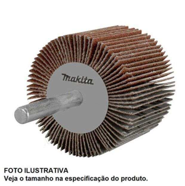 RODA DE LIXA GRÃO 80 B-37786 MAKITA
