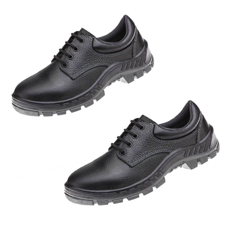 Sapato de Proteção com Cadarço feito em Couro Marluvas 50S29M-BP EPI