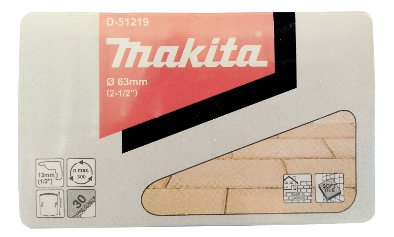 SERRA COPO DE TUNGSTENIO 63MM D-51219 MAKITA