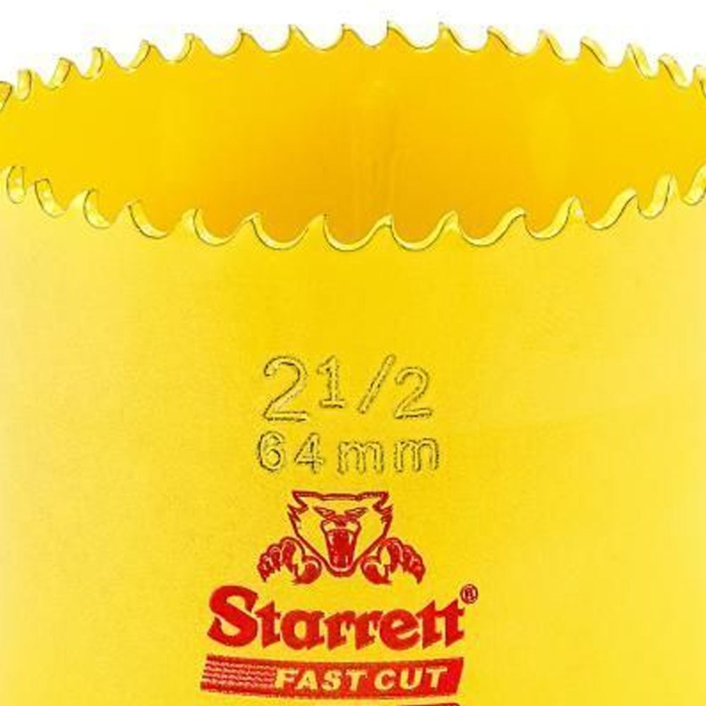 """SERRA COPO FAST CUT BI-METAL 2.1/2"""" (64mm) - FCH0212-G  STARRETT"""
