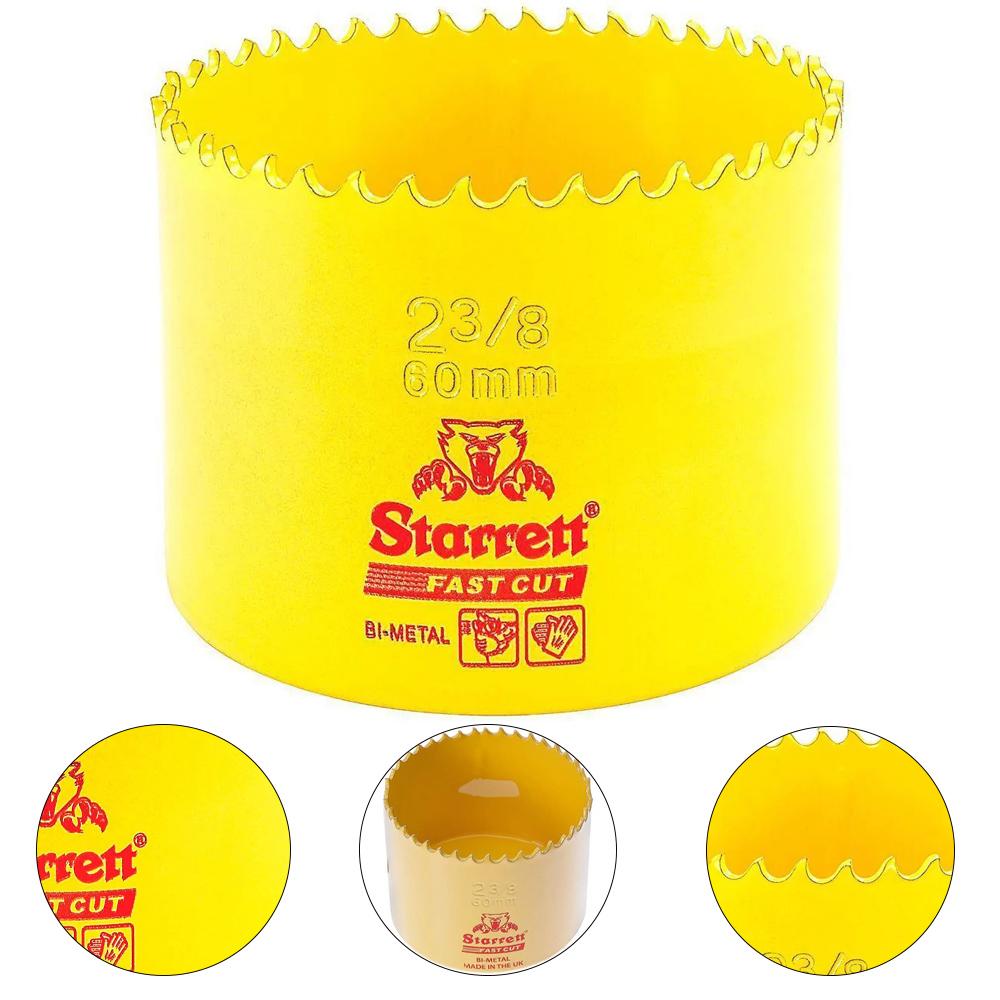 """SERRA COPO FAST CUT BI-METAL 2.3/8"""" (60MM) - STARRETT FCH0238-G"""