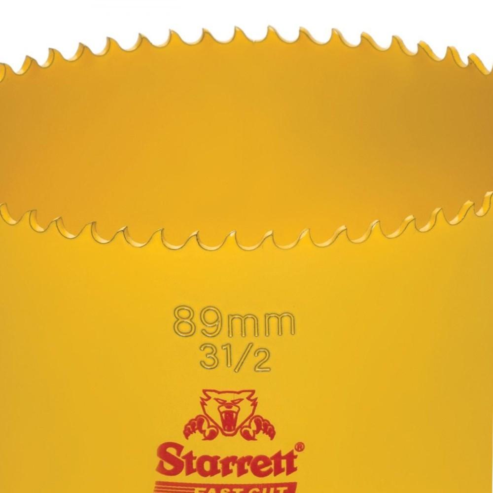 SERRA COPO BI-METAL FAST CUT 3.1/2'' 89 MM - FCH0312-G STARRETT